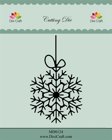 Dixi Craft - Die - MD0124 - Hanging snow crystal